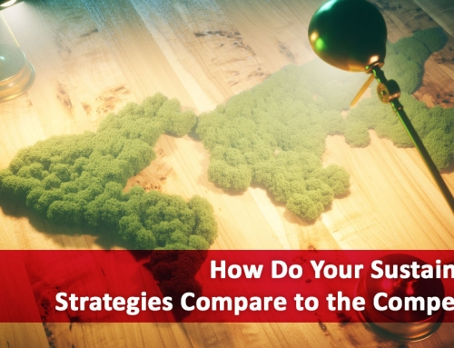 How Do Your Sustainability Strategies Compare to the Competition?