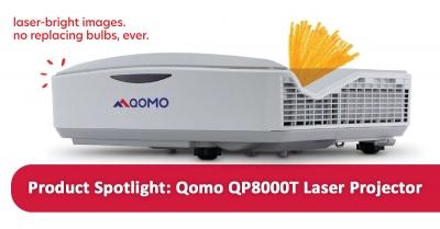 Product Spotlight: Qomo QP8000T Laser Projector