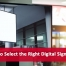 How to Select the Right Digital Signage Mount