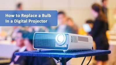 digital projector bulb replacement