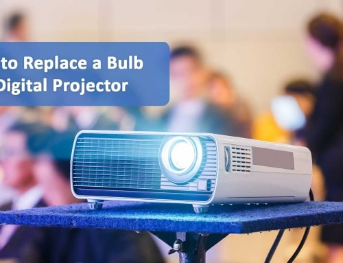How to Replace a Digital Projector Bulb