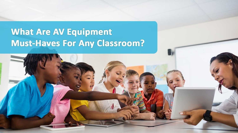 classroom av equipment