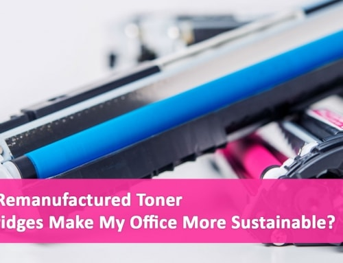 Can Remanufactured Toner Cartridges Make My Office More Sustainable?