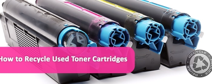 how to recycle used toner cartridges