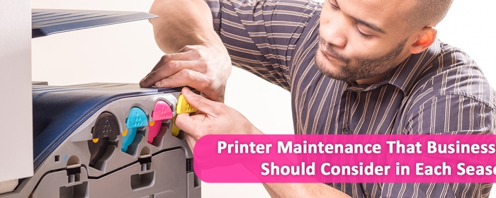 printer maintenance