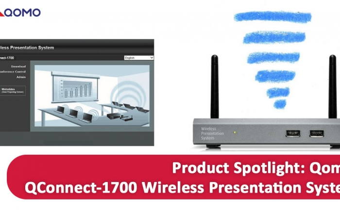Spotlight on the Innovative Qomo Qconnect-1700 Wireless Presentation System