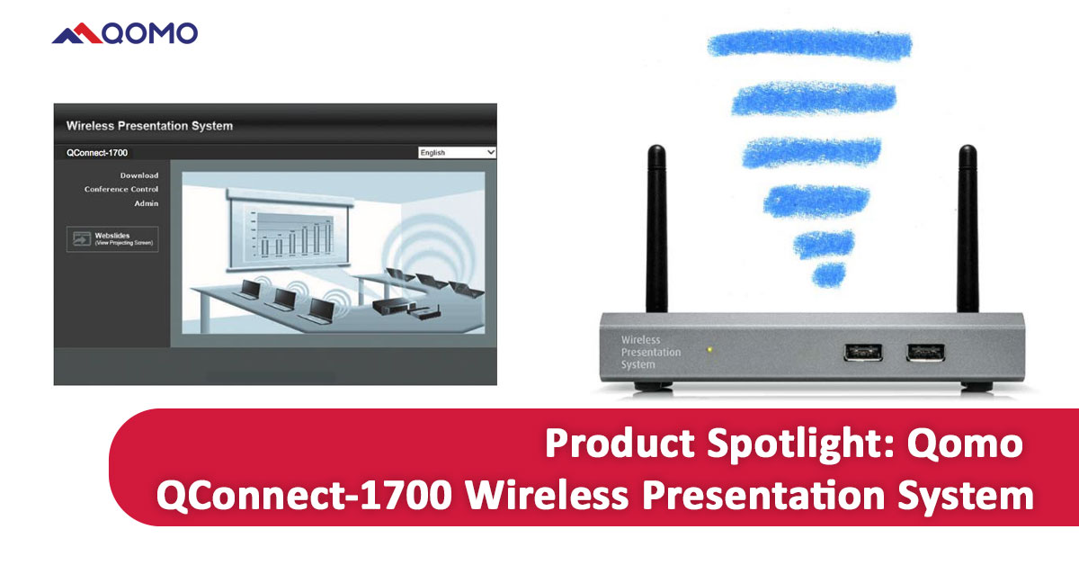Spotlight on the Innovative Qomo Qconnect-1700 Wireless Presentation System