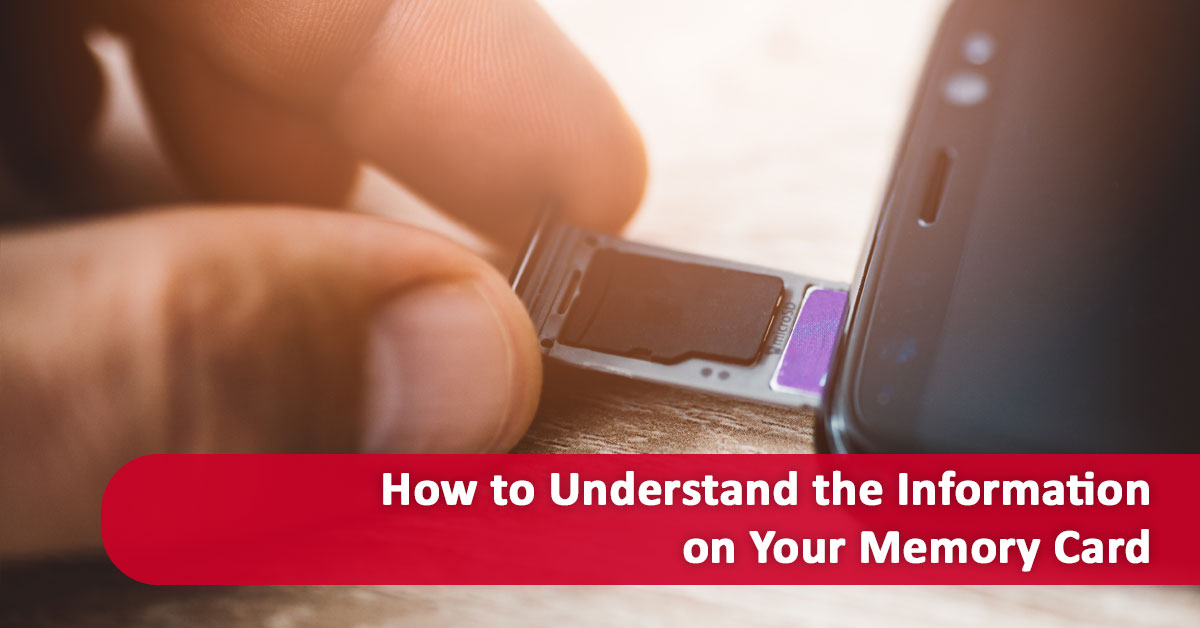 How to Understand the Information on Your Memory Card
