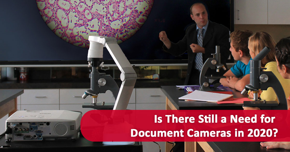 Is There Still a Need for Document Cameras in 2020?